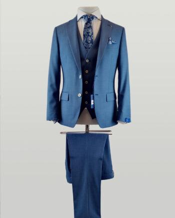 Rijkaard Blue Suit