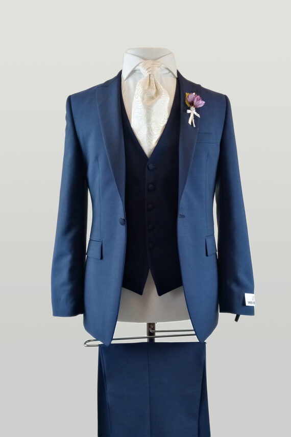 Royal 1 Button 3 piece suit