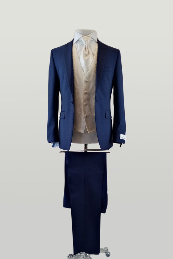 Royal 1 Button with Luxe Waistcoat