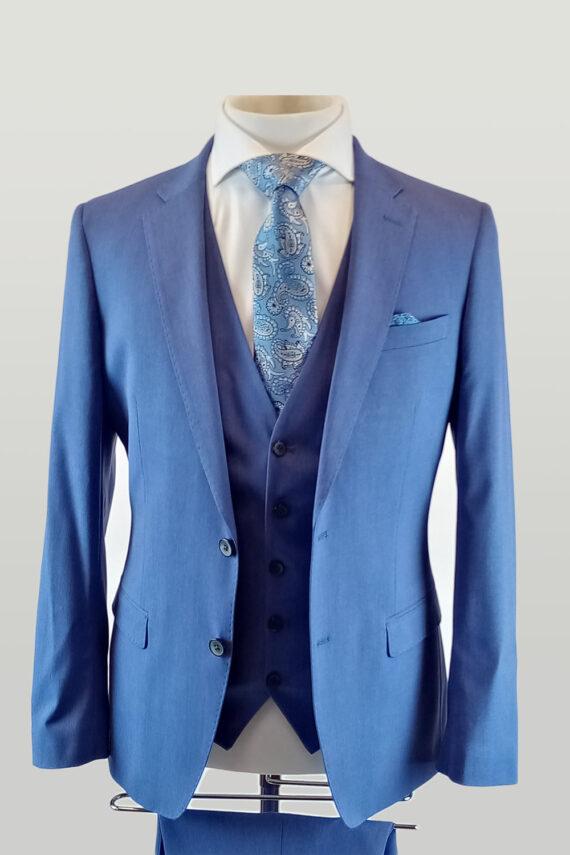 Sky 3 Piece Suit