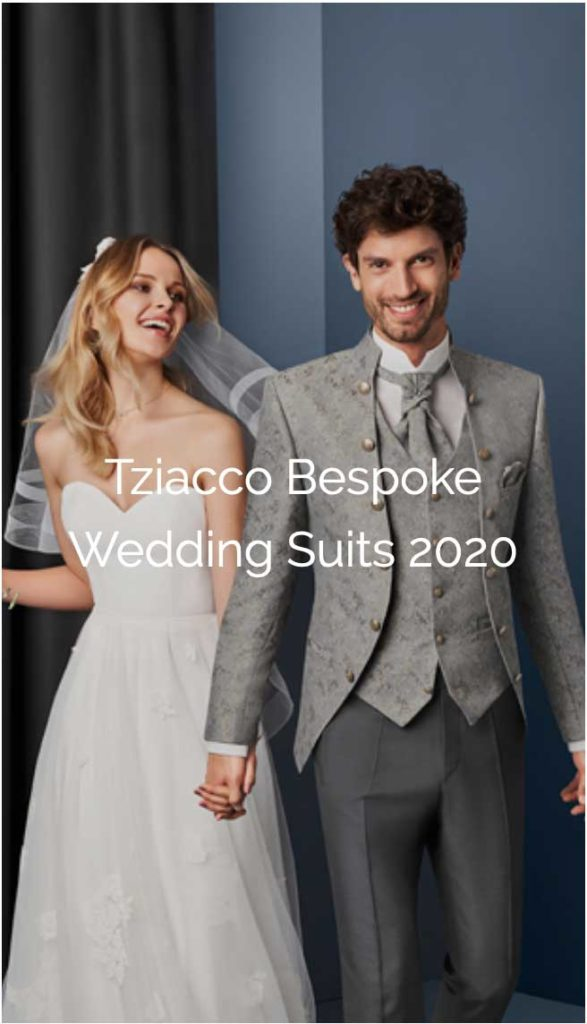 Tziacco Bespoke Wedding Suits 2020