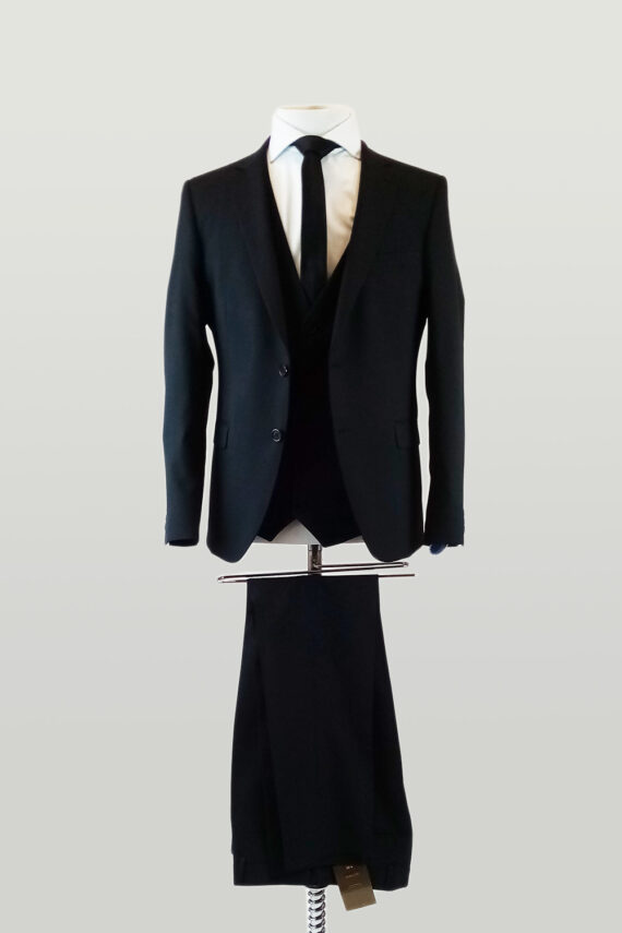Black 3 piece Suit