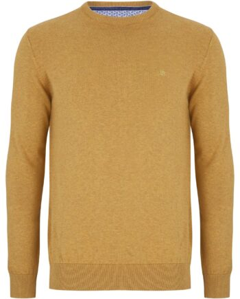 Gold Crew Neck Jumper