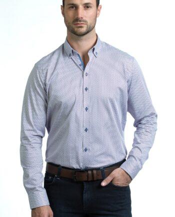Jim Burgundy Shirt