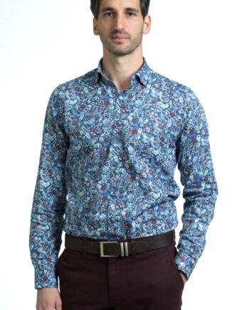 Malaga Blue Shirt