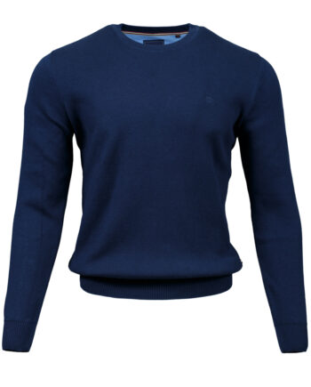 Rush Navy Crew Neck Jumper