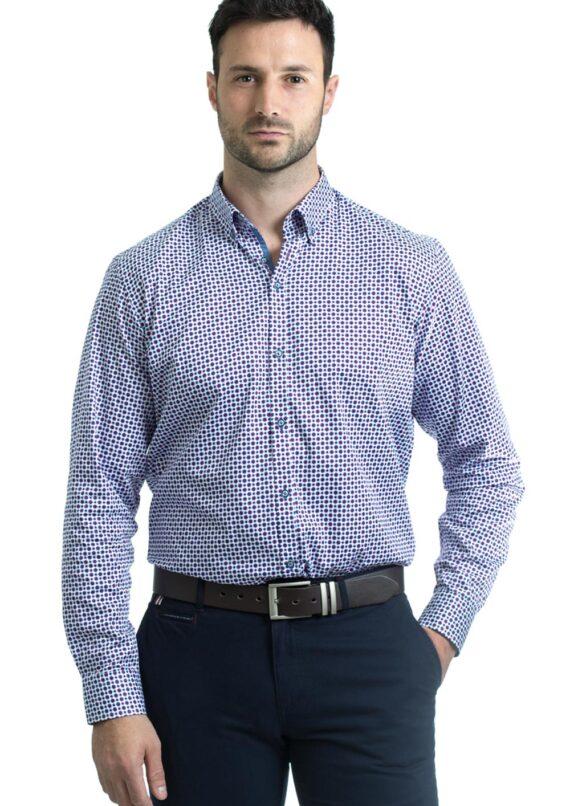 Tolka Purple Shirt