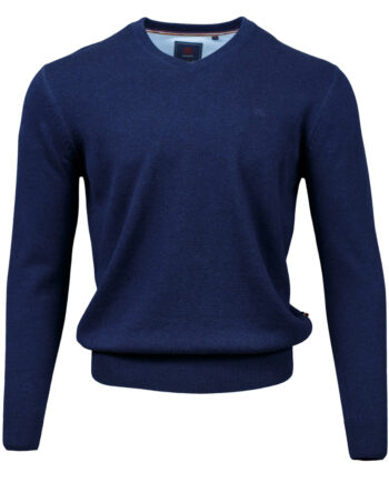 Valencia Navy V-neck Jumper