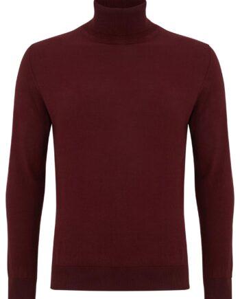 Dax Bordo Rollneck Sweater