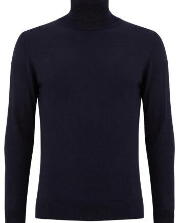 Dax Navy Rollneck Sweater