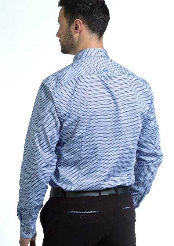 Foyle Burgundy Shirt