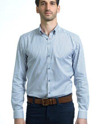 George Navy Shirt