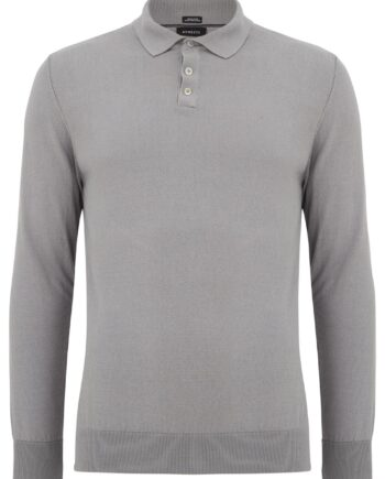 Geron Silver Buttoned Sweater