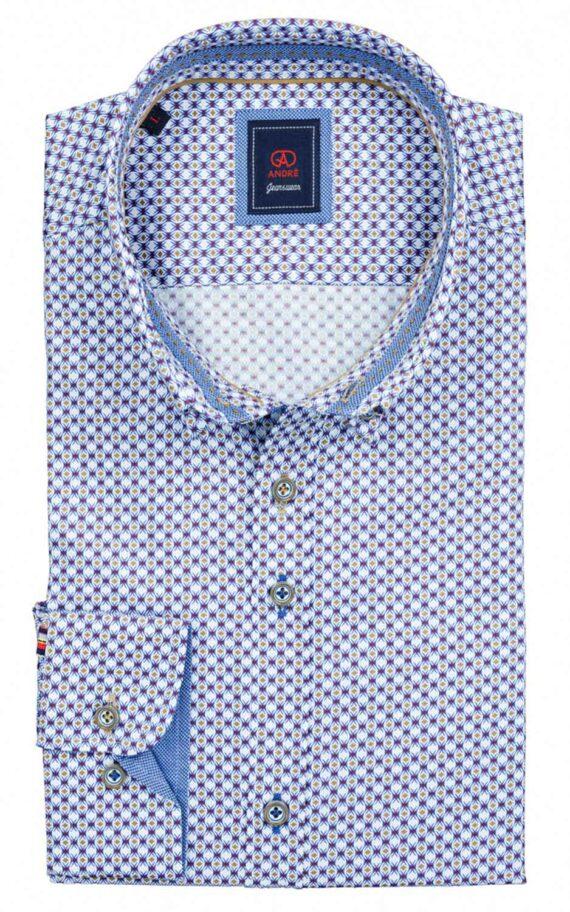 Slaney Taupe Casual Shirt