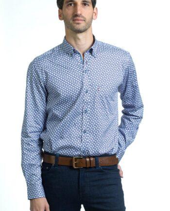 Thomas Purple Shirt