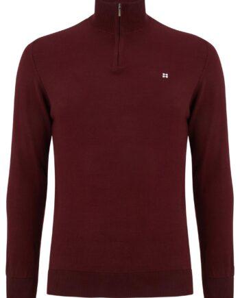 Canon Bordo Half-zip Sweater