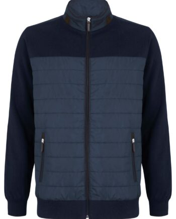 Floyd Navy Full-zip Jacket