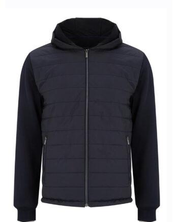 Vienna Navy Full Zip Jacket