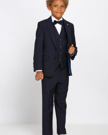 Cusack Navy Boys 3 Piece Suit