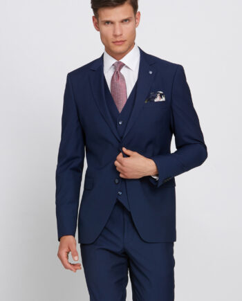 Hogan Petrol 3 Piece Wedding Suit