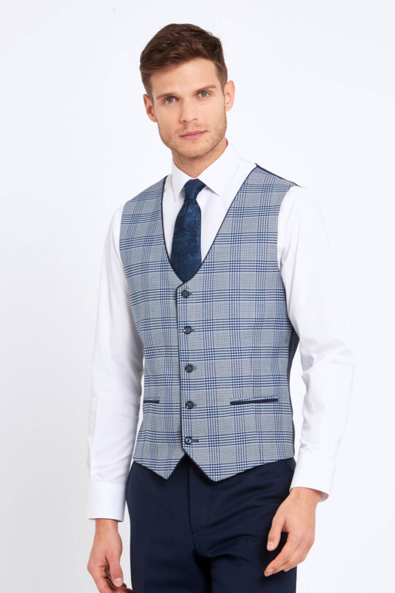 James Navy Wedding Suit Julius Waistcoat