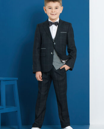 Joey Forest Green 3 Piece Boys Suit