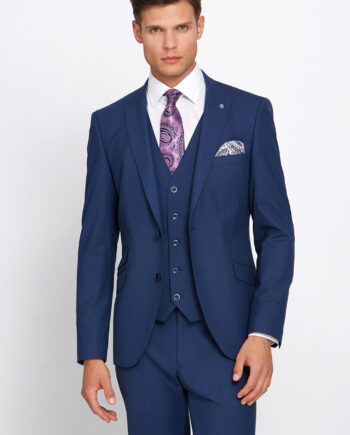 Jonny Petrol 3 Piece Wedding Suit