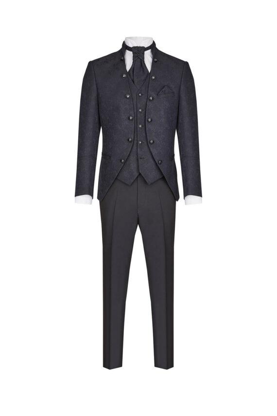 Royal Black 3 piece suit