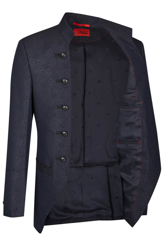 Royal Black full-length Jacket
