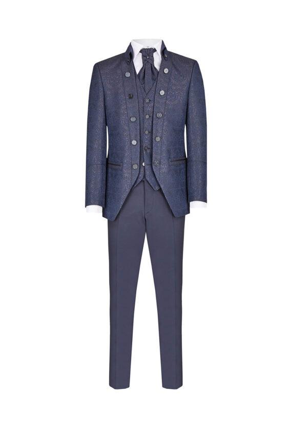 Royal Blue 3 piece Suit