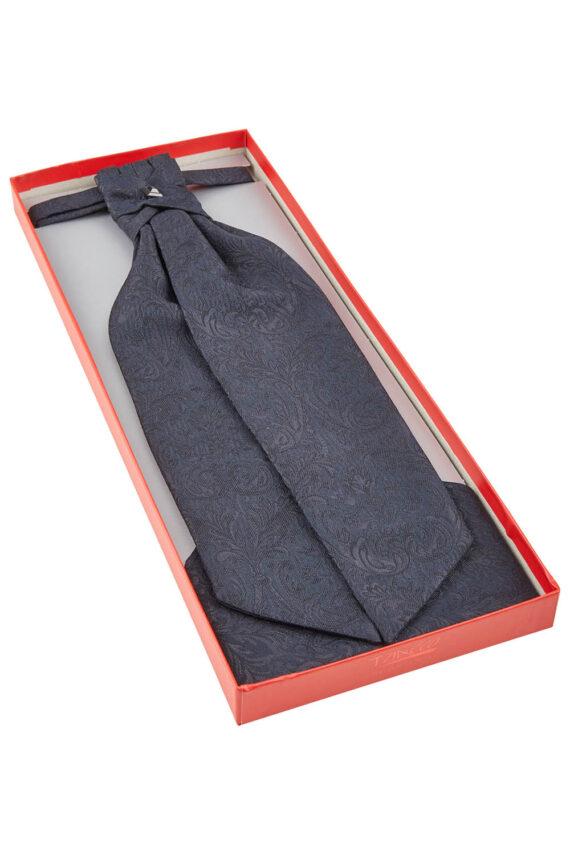 Royal Blue Floral Cravat