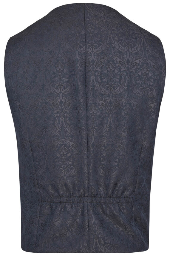 Royal Blue Floral Waistcoat