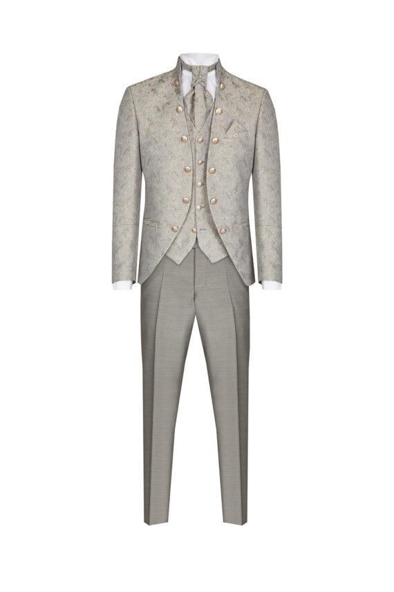 Royal Silver 3 Piece Suit