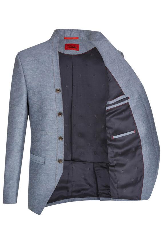 Royal Steel Blue Jacket