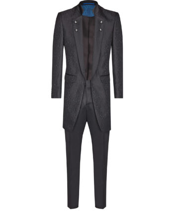 Royal Black Long suit