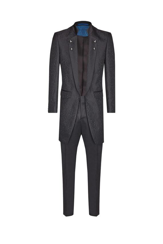 Royal Black Long suit